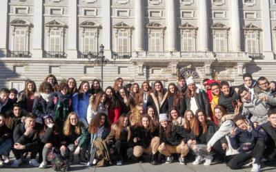 EXCURSIÓN A MADRID DE LOS ALUMNOS DE 4ºESO