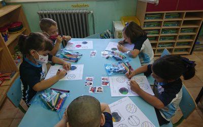 Los peques de 2° de Infantil seguimos aprendiendo.