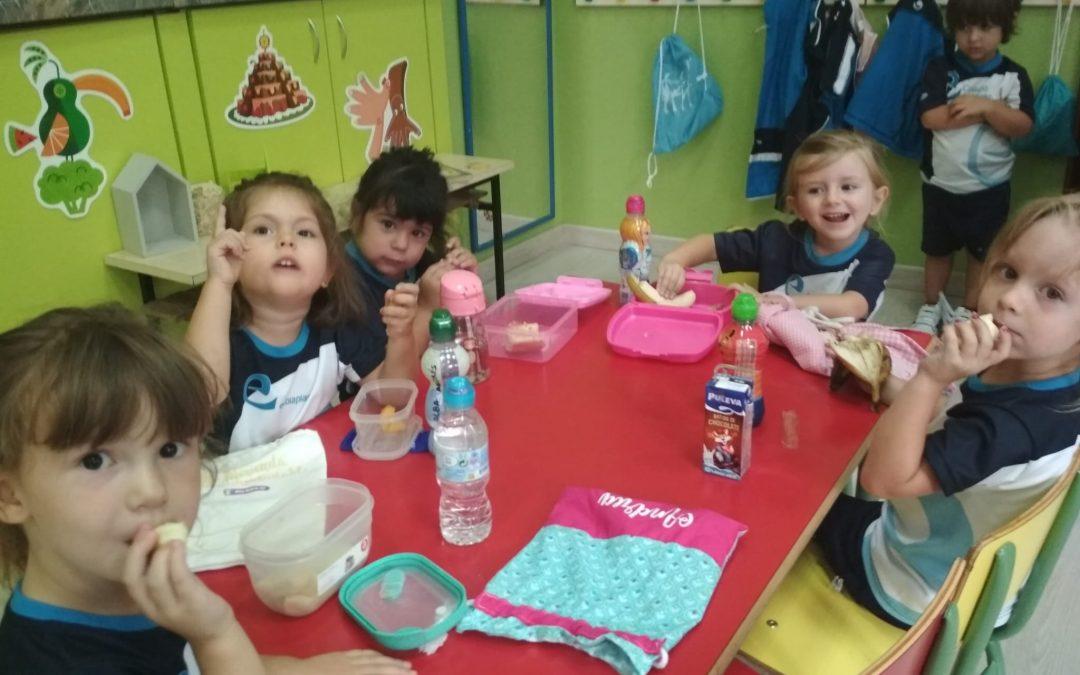 Primer martes de fruta de 1º de Infantil