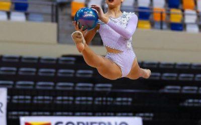 Éxito de una de nuestras alumnas en el Campeonato de Aragón de gimnasia rítmica