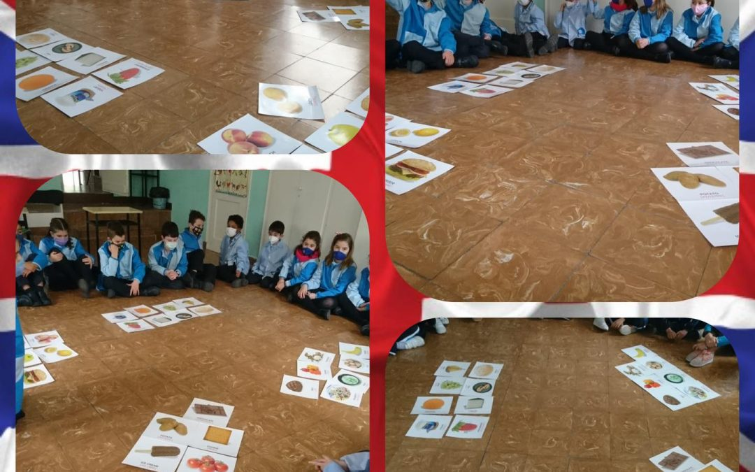 Flashcards en 3º de primaria