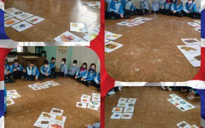 Flashcards en 3º de primaria